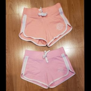 2 Justice girls shorts